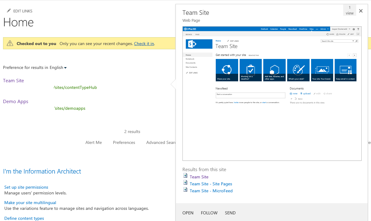 How To Remove The Hover Panel Within The Sharepoint 2013 Search