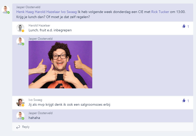 Microsoft Teams – How to stop the giphy, memes, smiley and